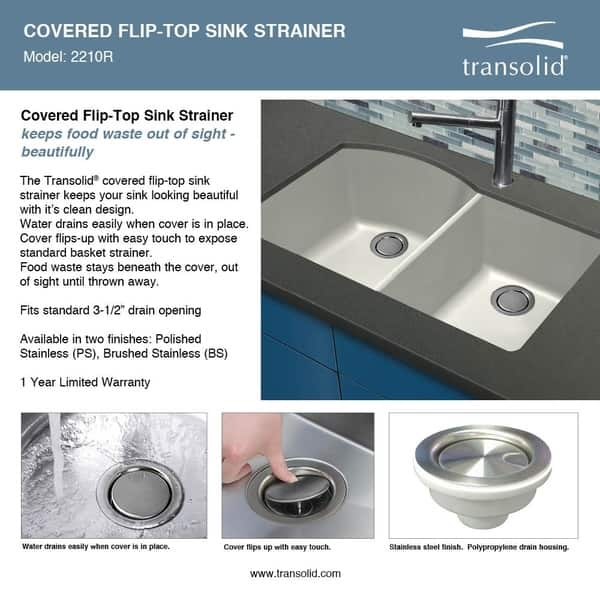 Transolid Radius Granite 33 In Drop In Kitchen Sink Kit With Grids Strainers And Drain Installation Kit On Sale Overstock 29057070