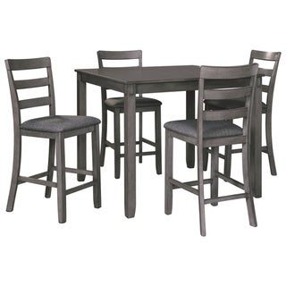Bridson Square Counter Table Set of 5 - Gray