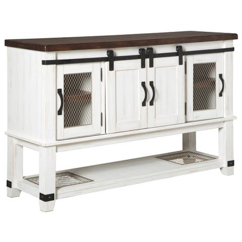 Valebeck Dining Room Server - White