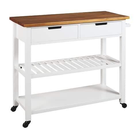 Withurst Kitchen Cart - White