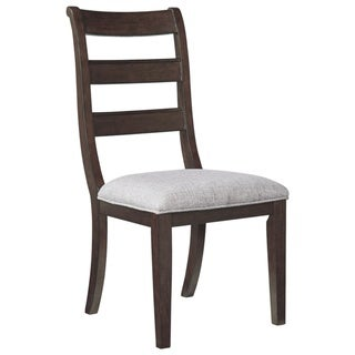 Link to Adinton Dining Upholstered Side Chair - Set of 2 - Brown - N/A Similar Items in Dining Room & Bar Furniture
