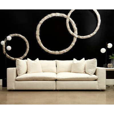 Buy Cream Sectional Sofas Online at Overstock   Our Best ...