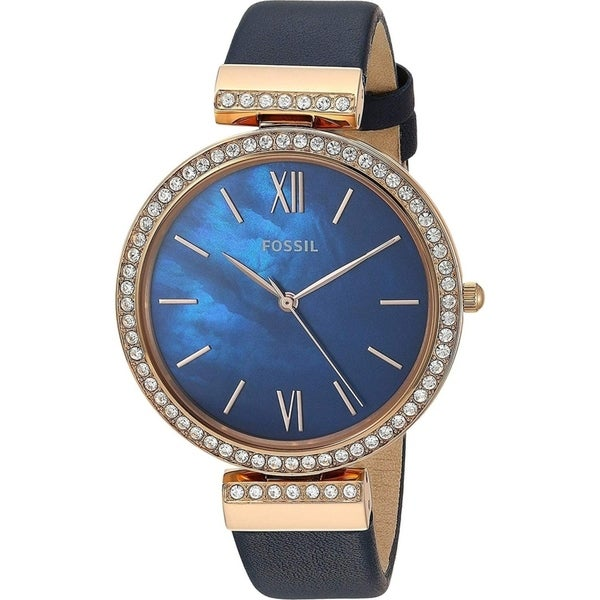 Shop Fossil Women's ES4538 Madeline Blue Dial Stainless ...   Madeline Blue