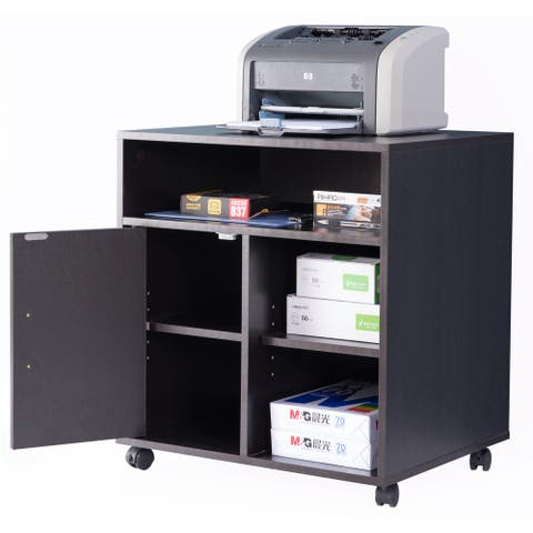 Printer Kitchen Office Storage Stand With Casters
