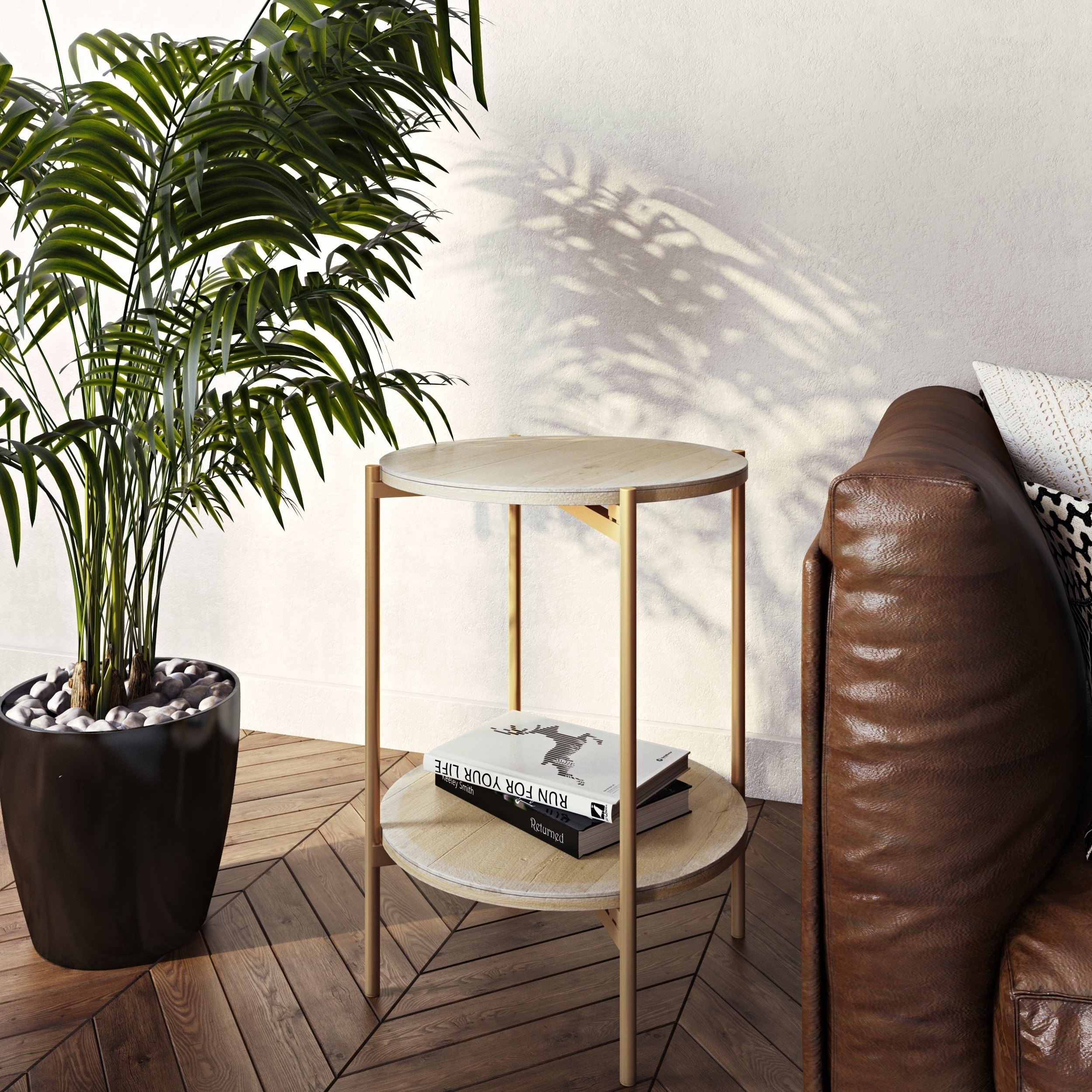 - Shop Kamryn Modern Accent Table - On Sale - Overstock - 29057442