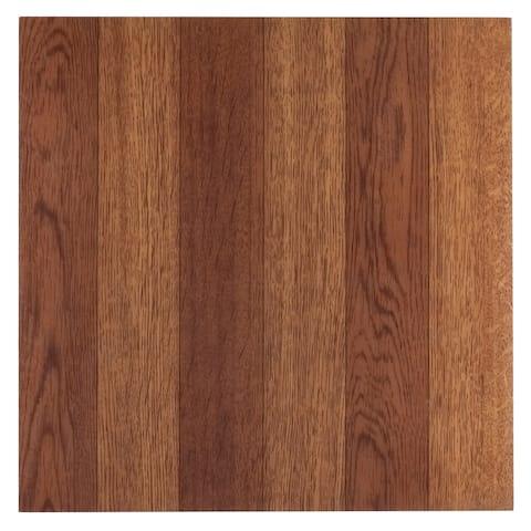 Achim Sterling Medium Oak Plank 12x12 Floor Tile (45 Tiles/45 sq ft)