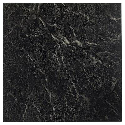 Achim Sterling Black-White Vein 12x12 Floor Tile (20 Tiles/20 sq ft)