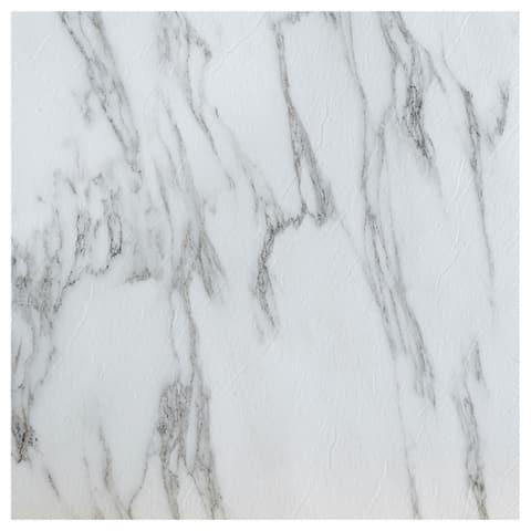 Achim Nexus Bianco Marble 12x12 Vinyl Floor Tile (20 Tiles/20 sq. ft.)