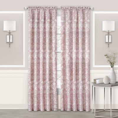 Porch & Den Breeze Rod Pocket Window Curtain Panel