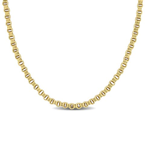 Buy Gold Chains & Necklaces Online at Overstock | Our Best