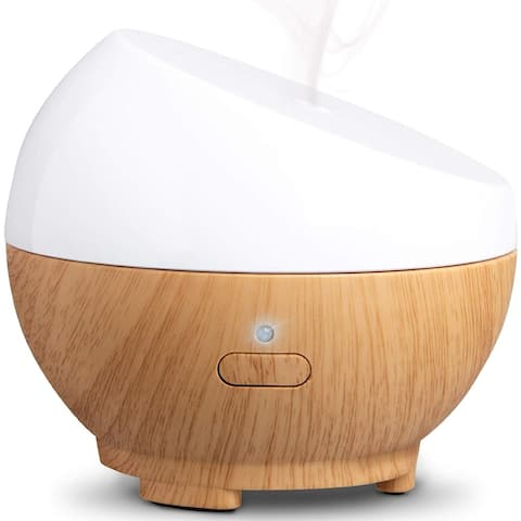 Diffuser Ultrasonic Aromatherapy Portable 50mL - Light Brown