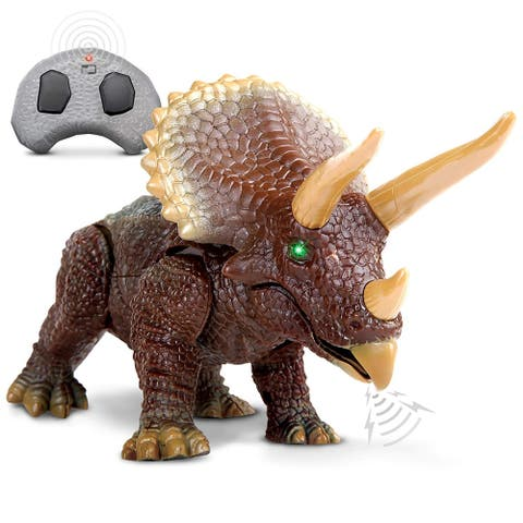 Toy RC Triceratops
