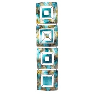 Porch & Den 4-Panel Metal Wall Decor