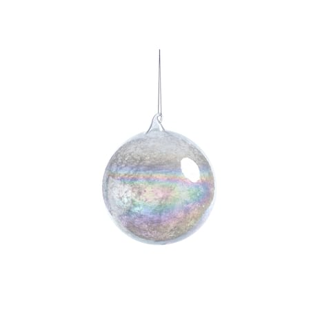 Luster Hanging Ball Ornaments, Set of 4