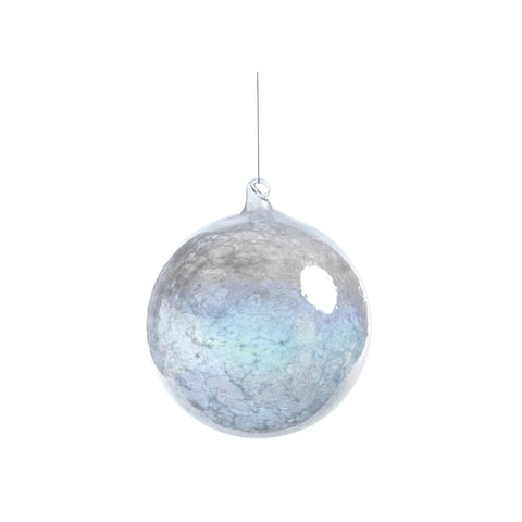 Luster Hanging Ball Ornaments, Set of 2