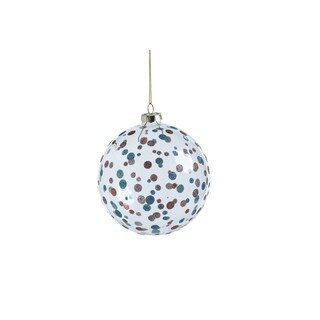 Link to Glittered Polka Dot Holiday Ball Ornaments, Set of 4 Similar Items in Christmas Decorations