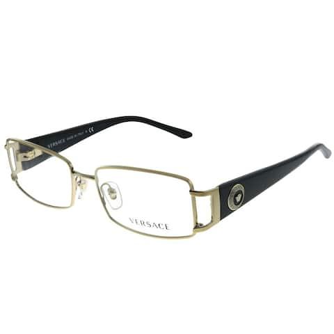 Versace VE 1163M 1252 52mm Unisex Pale Gold Frame Eyeglasses 52mm