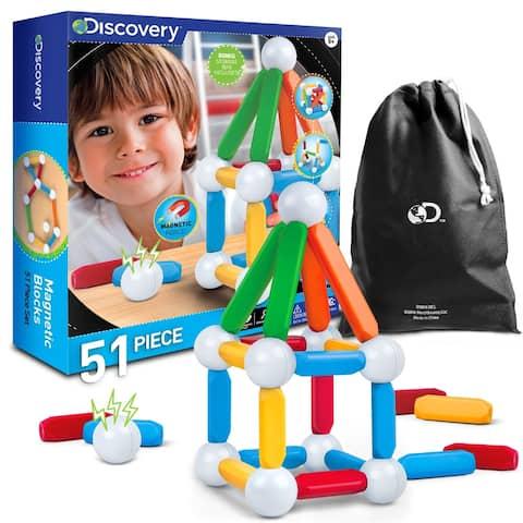 Toy Magnetic Building Blocks 51pcs
