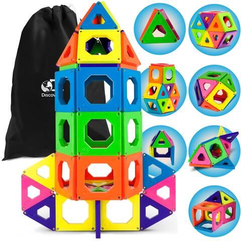 Toy Magnetic Tiles 50pcs