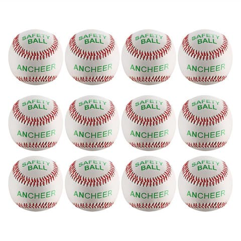 Ancheer Reduced Impact soft Compression Training Throwing Practice Safety Baseball