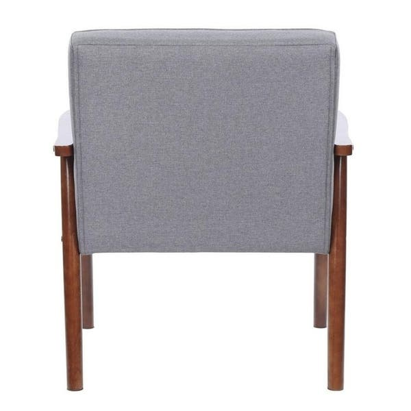 Peachy Shop Retro Modern Fabric Upholstered Wooden Accent Chair Ibusinesslaw Wood Chair Design Ideas Ibusinesslaworg