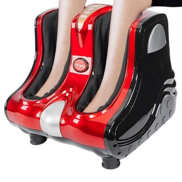 Smart Kneading Rolling Vibration Shiatsu Foot Calf Leg Massager 110V US Plug. Opens flyout.