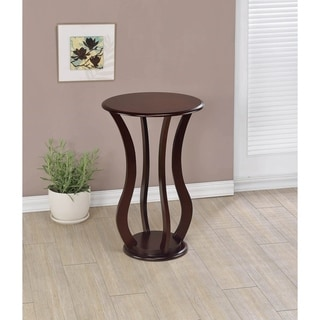 Hendrey Cherry Round Accent Table