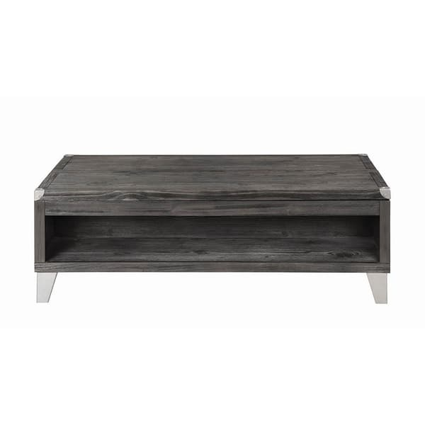 Shop Carbon Loft Thurman Grey Rectangle Lift Top Coffee Table