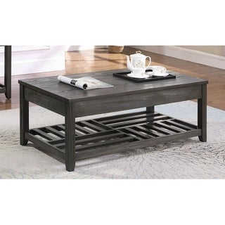Emsley Grey Rectangle Lift-top Coffee Table