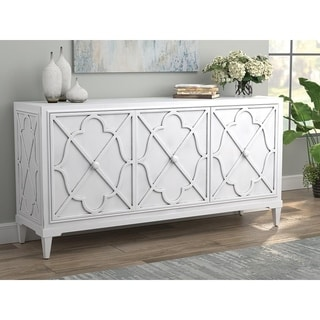 Link to Fansen Antique White 3-door Accent Cabinet Similar Items in Living Room Furniture