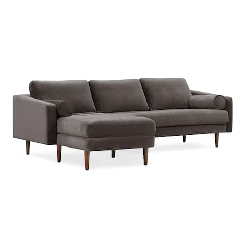 Carson Carrington Bocksjo Left Sectional Sofa