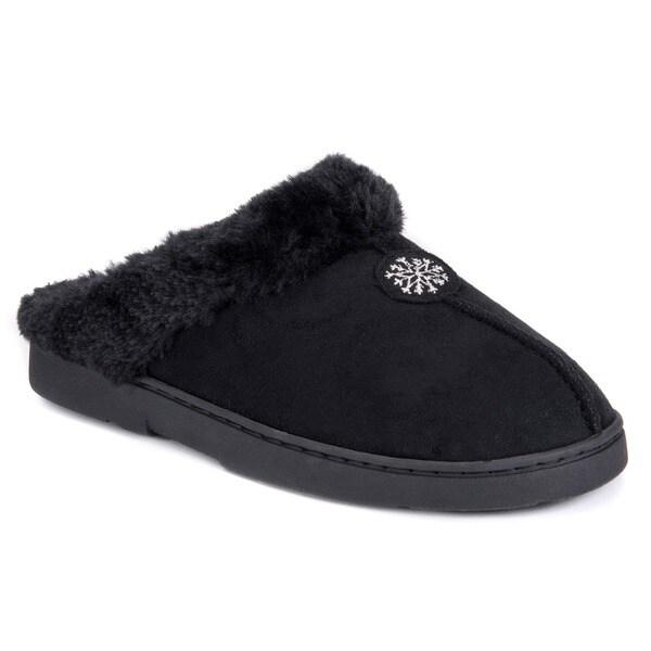 03f1f97da Shop Fireside Casuals Women's Memory Foam Clog Slippers - Free ...