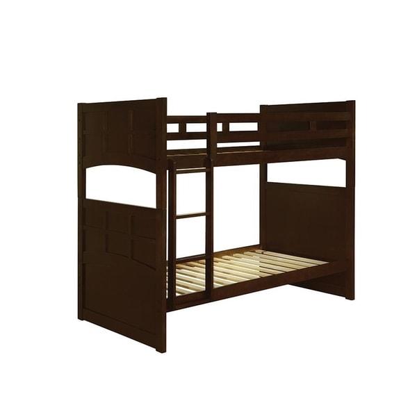 Bennington Cappuccino Twin/Twin Bunk Bed