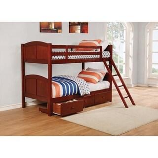Taylor & Olive Arnica Chestnut Bunk Bed
