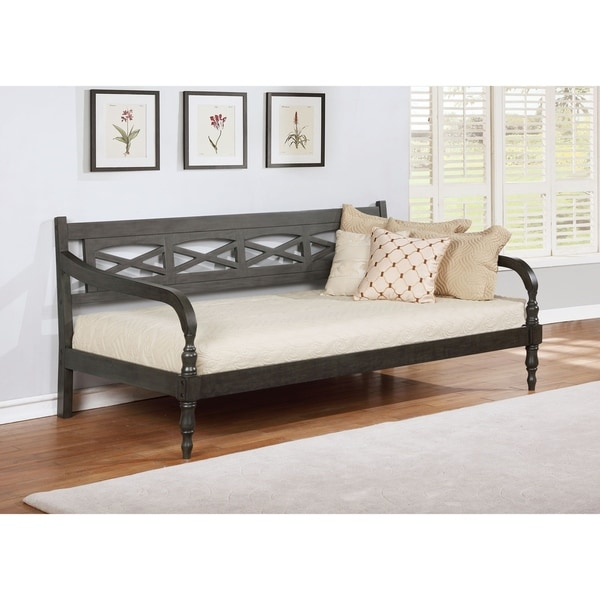 Pemberton Grey Twin Curved-arm Daybed