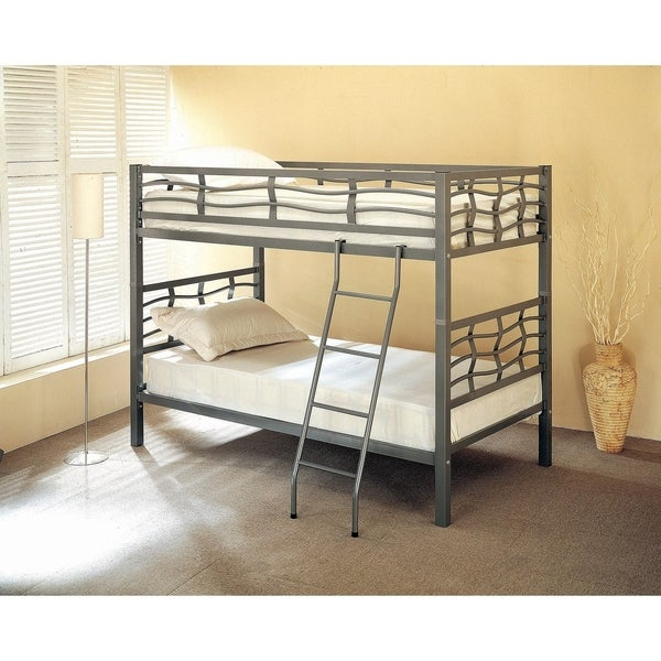 Shaws Light Gunmetal Twin/Twin Bunk Bed