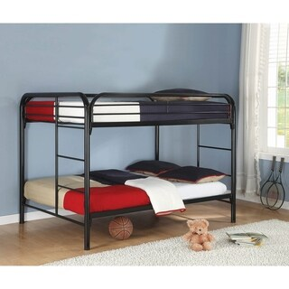 Clementine Full/Full Metal Bunk Bed with Ladder