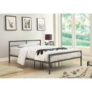Link to Arlin Gunmetal Metal Bed Similar Items in Kids' & Toddler Furniture