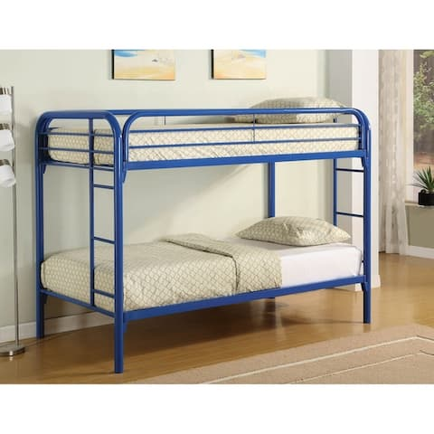 Celeste Metal Bunk Bed with Rung Ladder