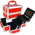 Seya Red Makeup Case with Mirror