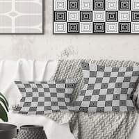 Buy Grey Geometric Mid Century Modern Throw Pillows Online At Overstock Our Best Decorative Accessories Deals
