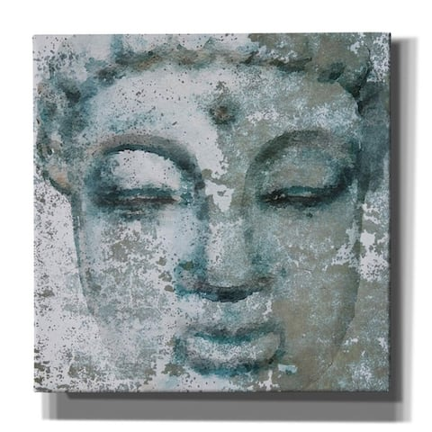 "Epic Graffiti 'Buddha, Inner Peace 3' by Irena Orlov, Giclee Canvas Wall Art, 12""x12"""