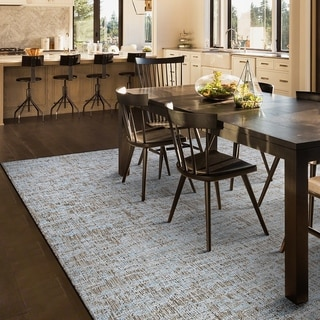 The Curated Nomad Federa Tan Indoor/ Outdoor Area Rug