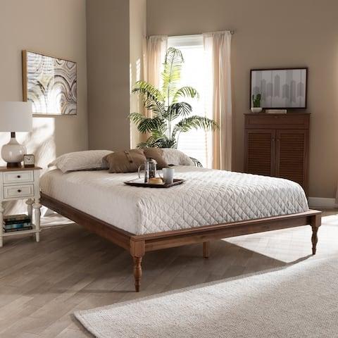 Copper Grove Crasnoe French-inspired Vintage Wood Bed Frame
