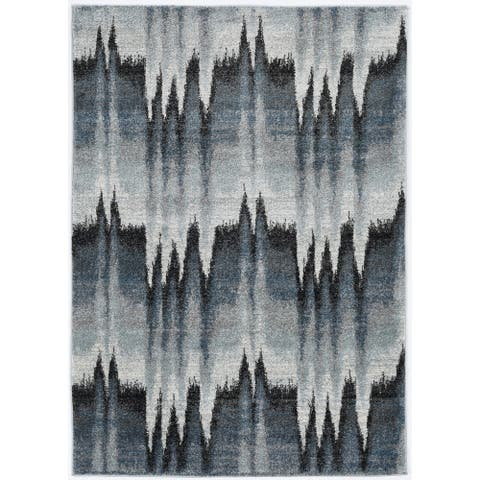 Strick & Bolton Mid-century Abstract Rhythm Area Rug