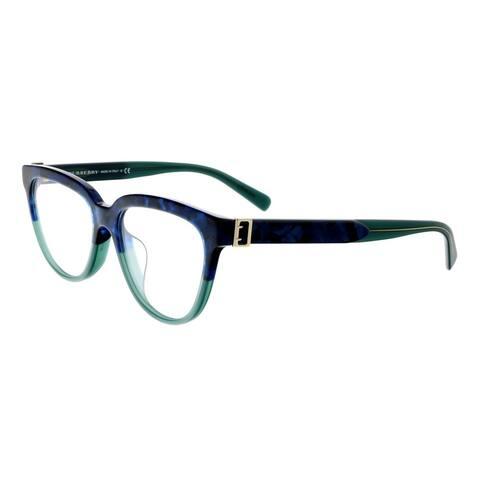 Burberry Rx 0BE2268F Blue Havana Green Women Eyeglasses