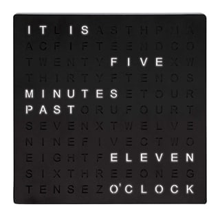 """Link to Table Top Word Clock LED - 7.75"""" x 1.13"""" x 7.75"""" Similar Items in Decorative Accessories"""
