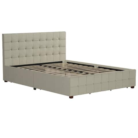 CosmoLiving by Cosmopolitan Elizabeth Upholstered Bed with Storage