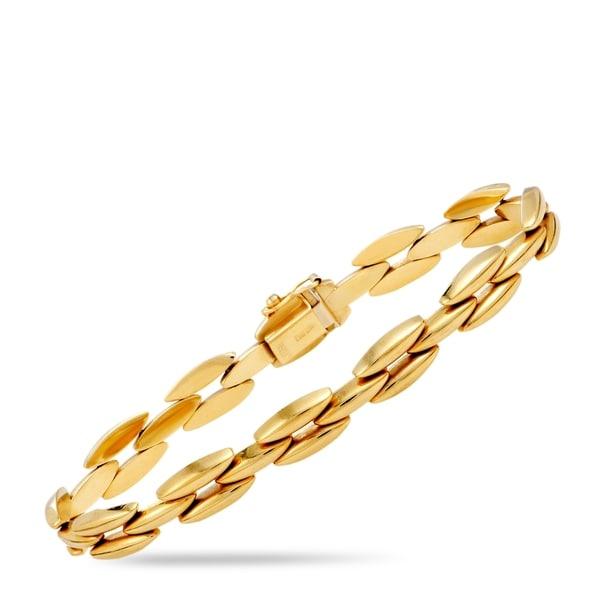 Tiffany & Co  Yellow Gold Link Bracelet