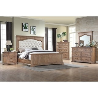 Emerald Home Oakhurst Traditional Wood Panel Bed